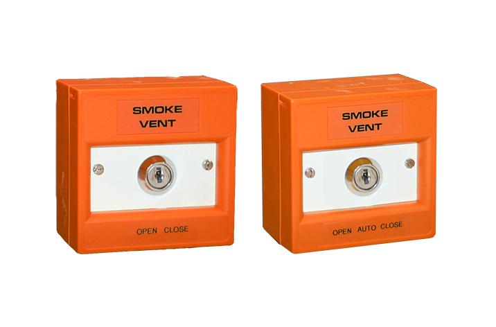 Key Switch Manual Call Point Orange