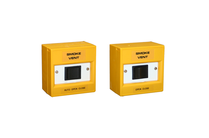 Yellow Rocker Switch Manual Call Point