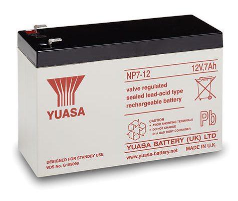 Control Panel Battery Backup