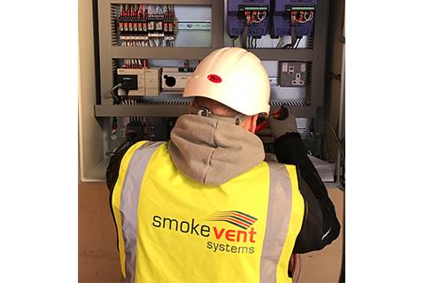 Powered Smoke Ventilation Installation