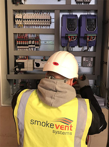 Powered Smoke Ventilation Installation