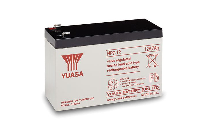 Control Panel Battery Backup
